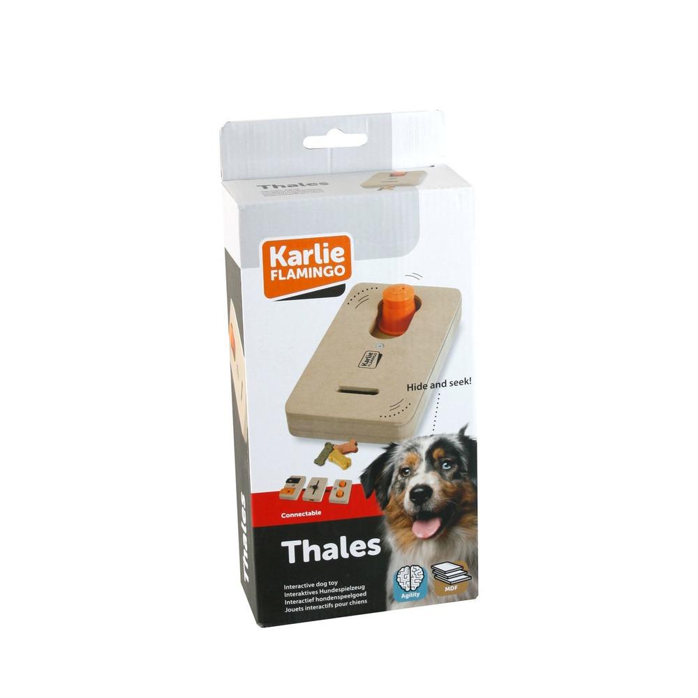 Karlie Brain Train Thales Interaktives Hundespielzeug, L: 22 cm B: 12 cm