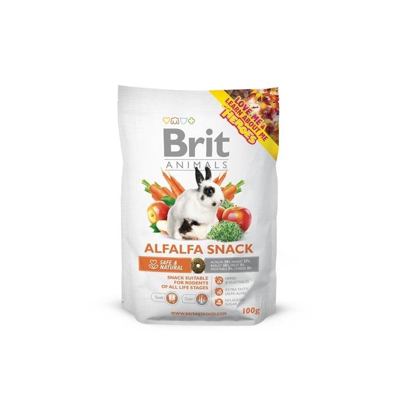 Brit Animals Alfalfa Kleintier Snack