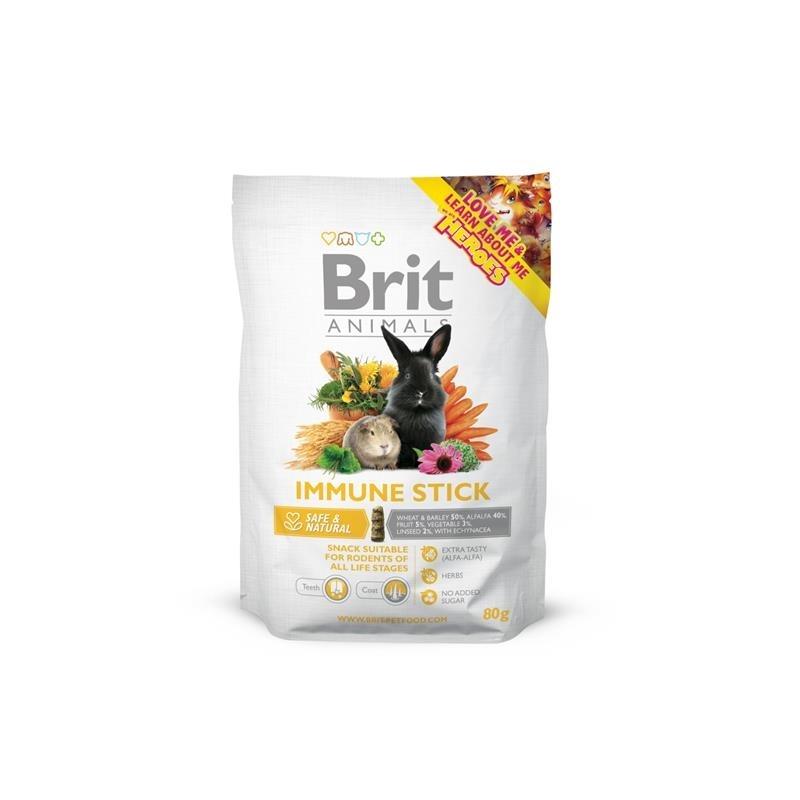 Brit Animals Immune Stick Kleintier Snack