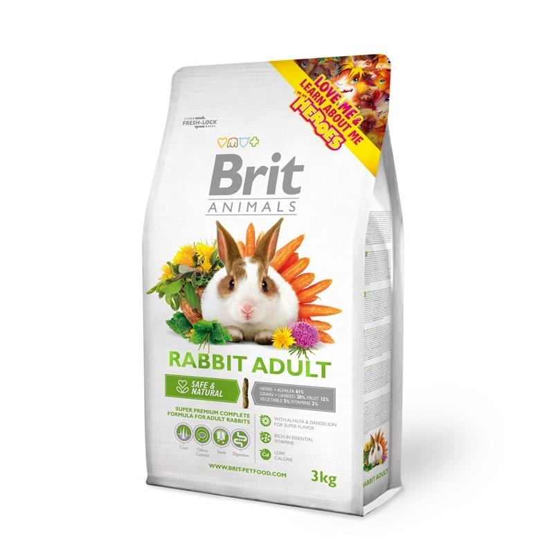 Brit Animals Rabbit Adult Complete, Bild 3