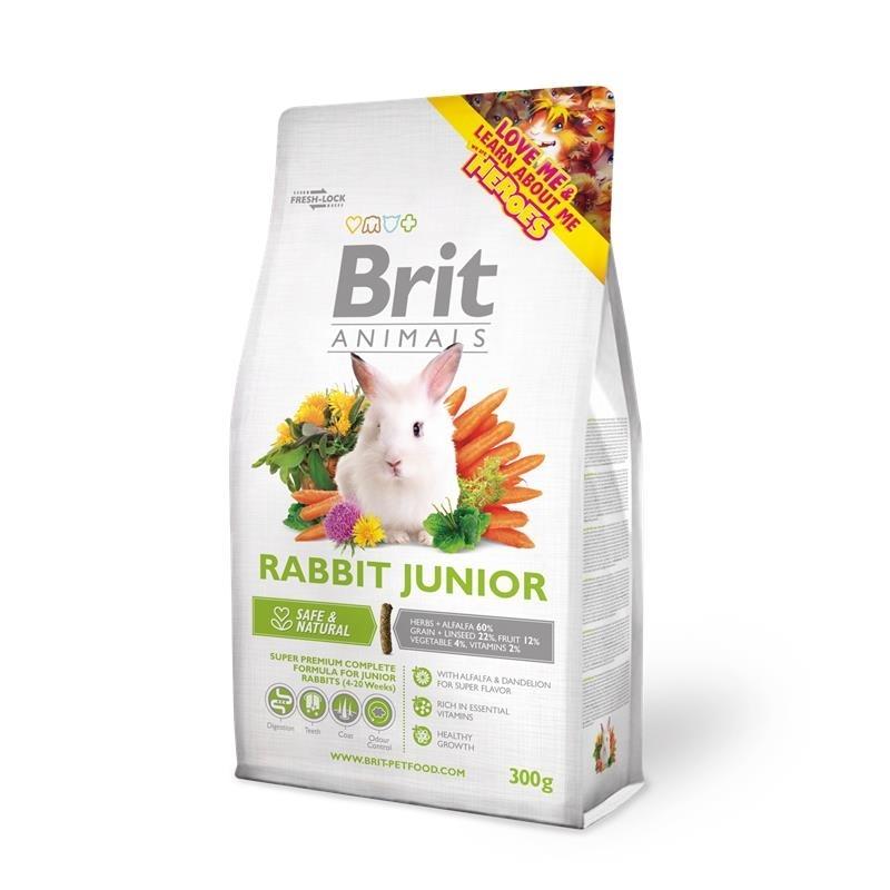 Brit Animals Rabbit Junior Complete, Bild 2