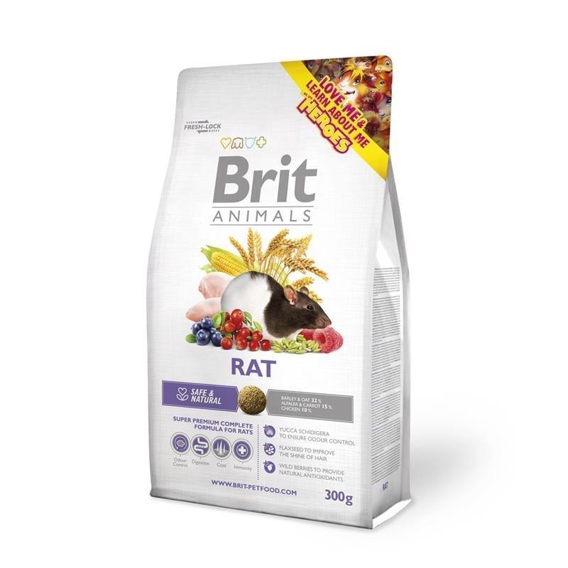 Brit Rat Complete Rattenfutter, 300 g