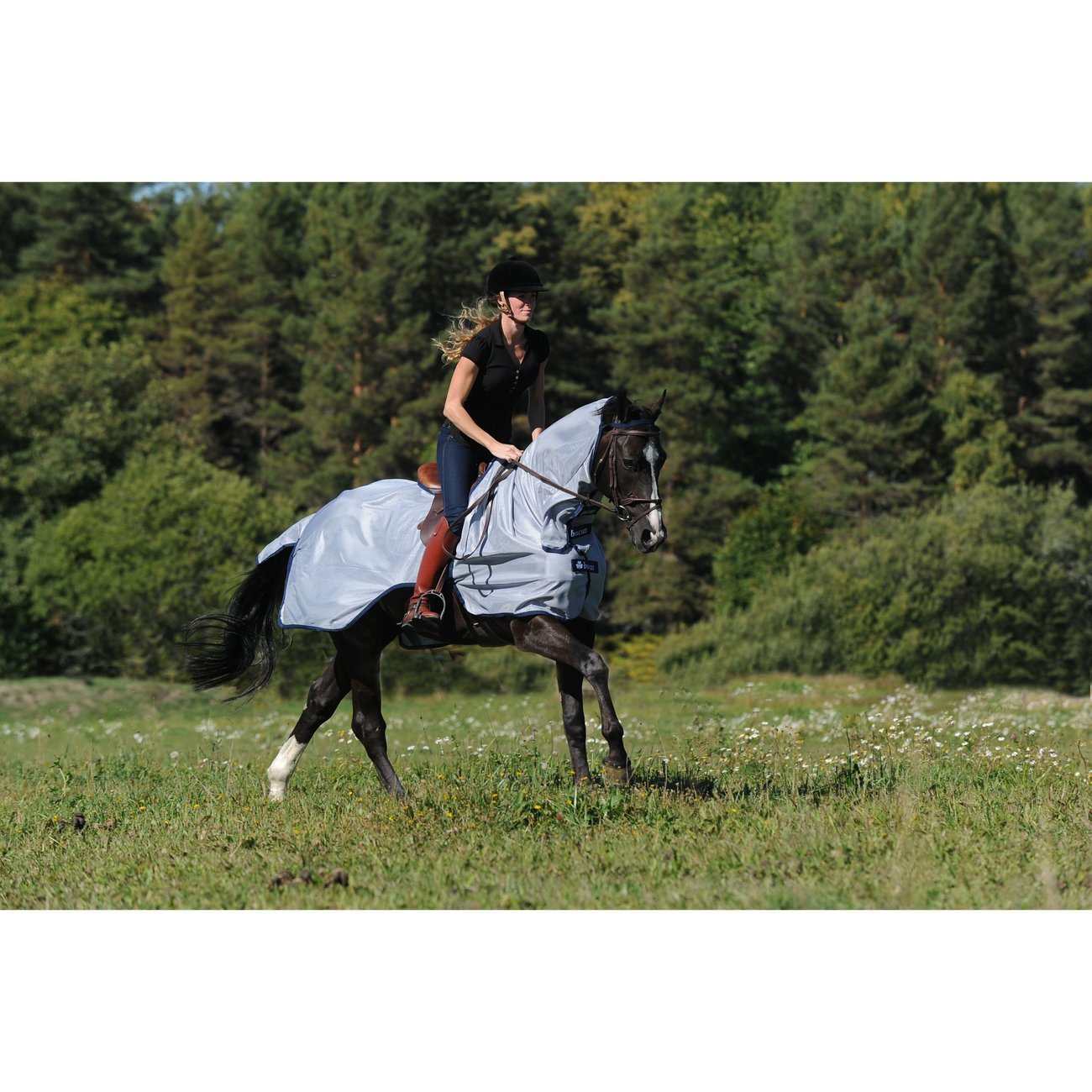 Bucas Ausreit Decke Buzz Off Riding, Gr. 135 cm