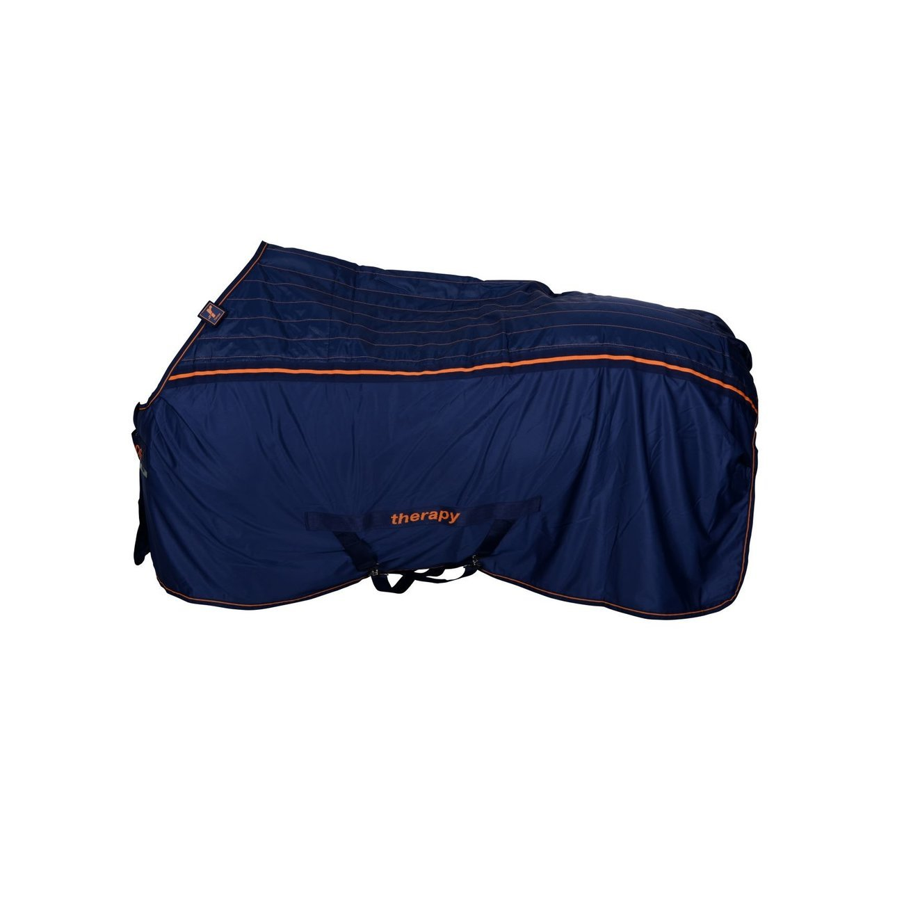 Bucas Recuptex Therapiedecke Pferd, Gr. 140 - Navy/Orange