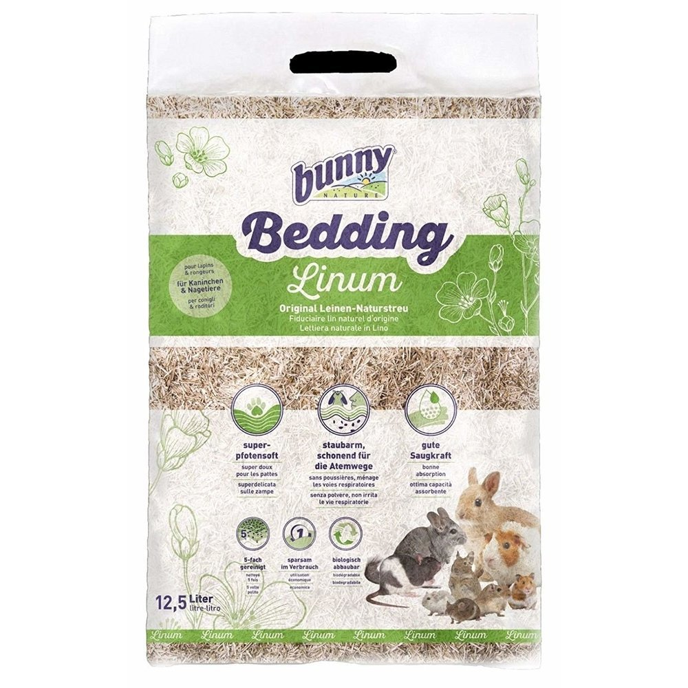 Bunny Bedding Linum Natureinstreu