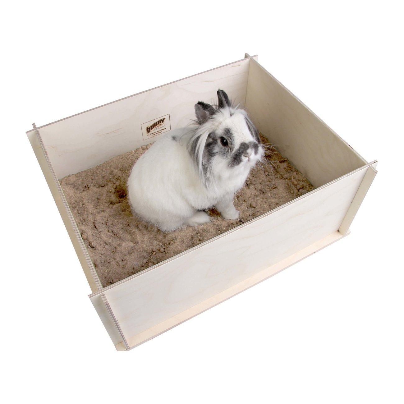 Bunny Buddelkiste für Kleintiere, 50 x 39 x 19,5 cm - ohne Inhalt