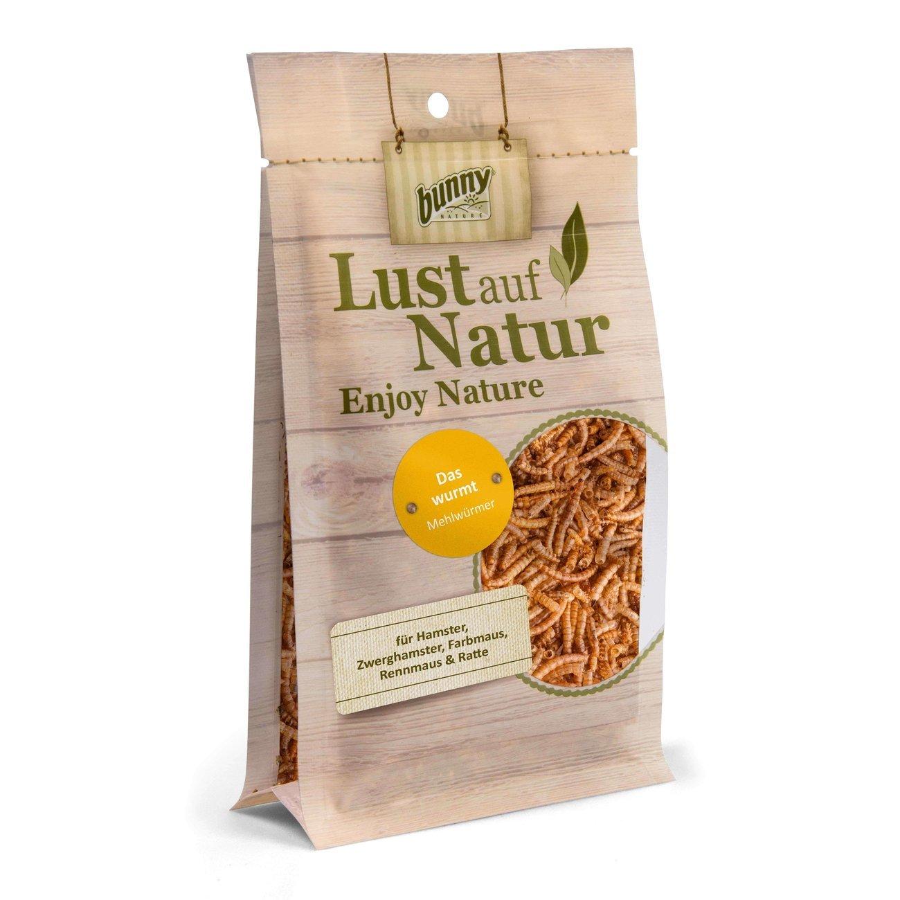 Bunny Das Wurmt Kleintier Snack, 35 g