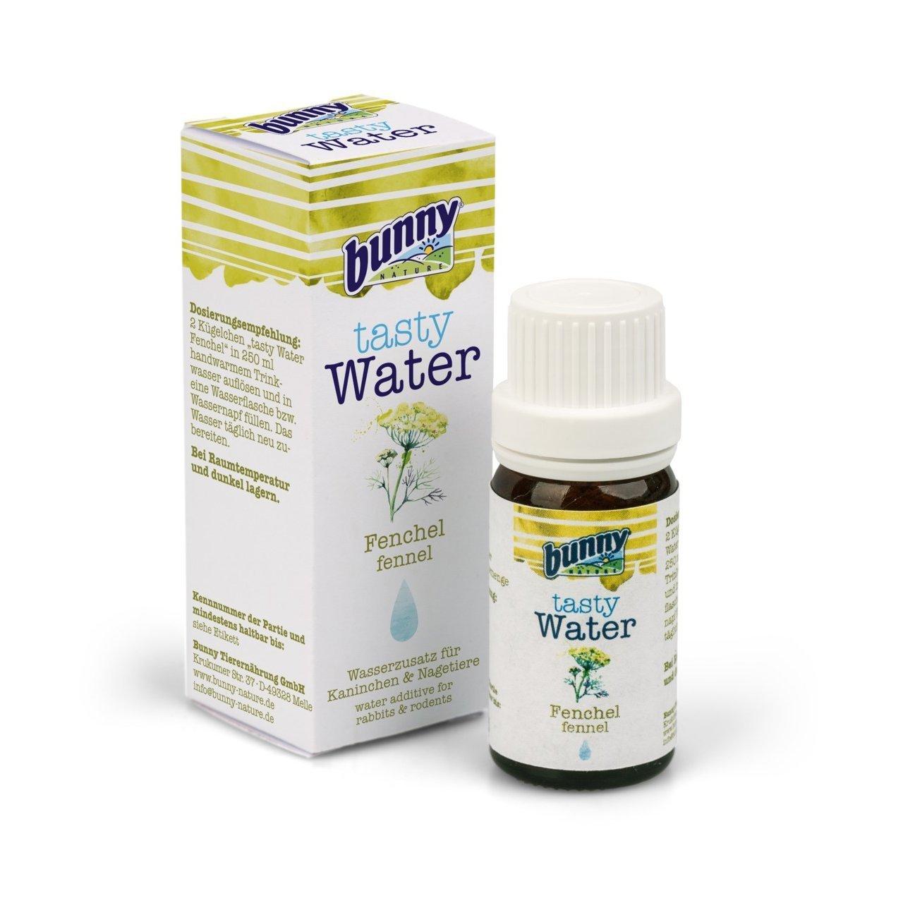 Bunny Health Tasty Water Wasserzusatz für Kaninchen und Nagetiere, 10 g / Fenchel - Wasserzusatz