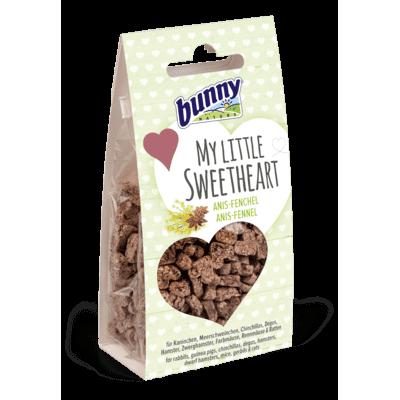 Bunny Herzkeks My little Sweetheart Kleintier Snack, 30 g - Anis-Fenchel