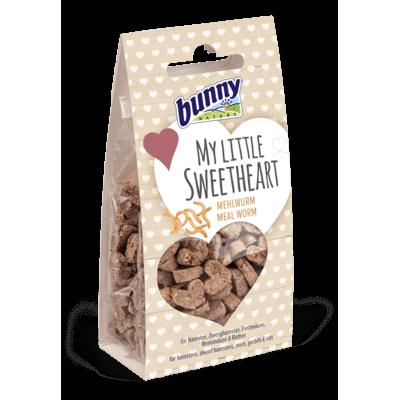 Bunny Herzkeks My little Sweetheart Kleintier Snack, 30 g - Mehlwurm