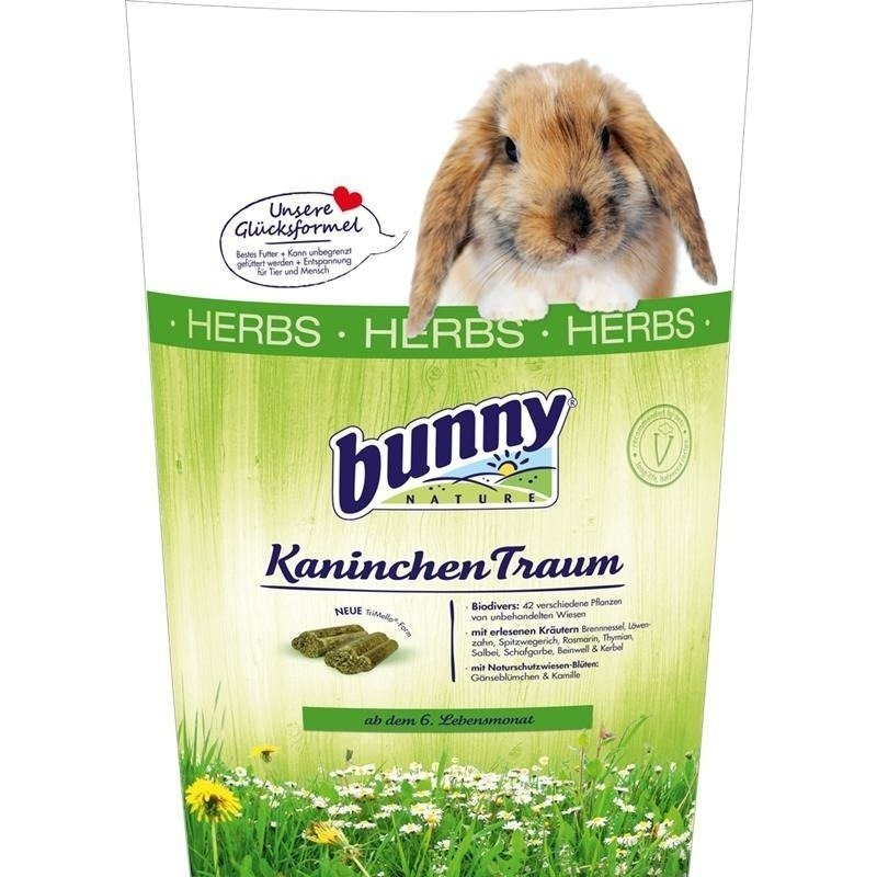 Bunny Kaninchen Traum mit Kräutern