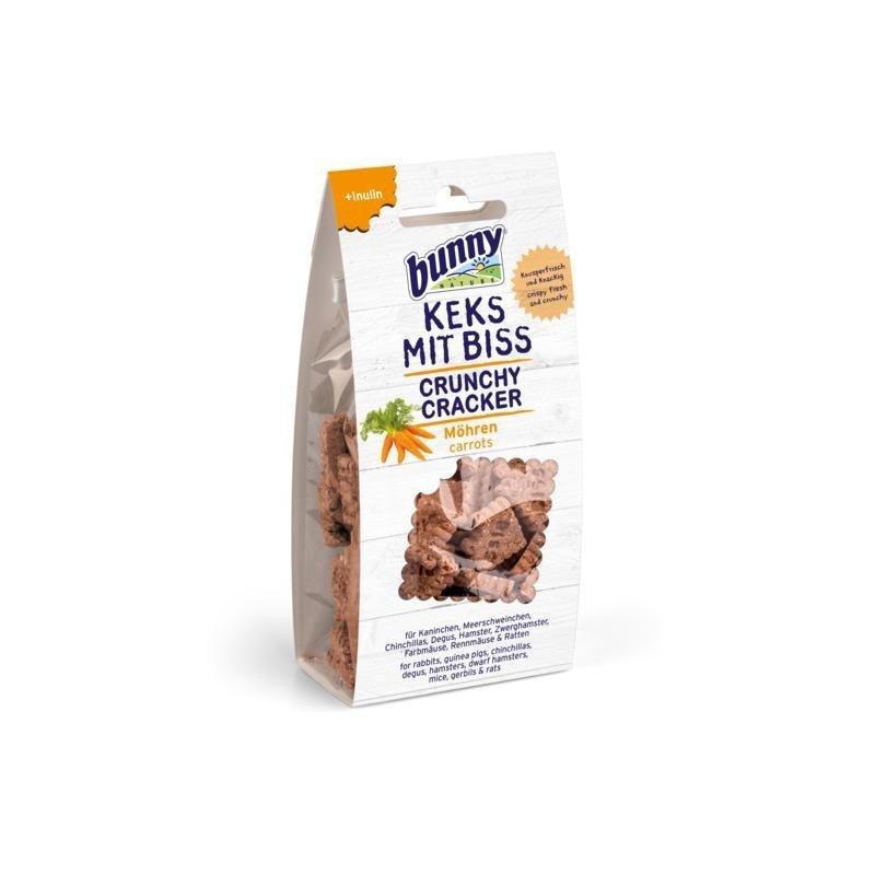 Bunny Keks mit Biss Kleintier Snack, Möhre 50 g