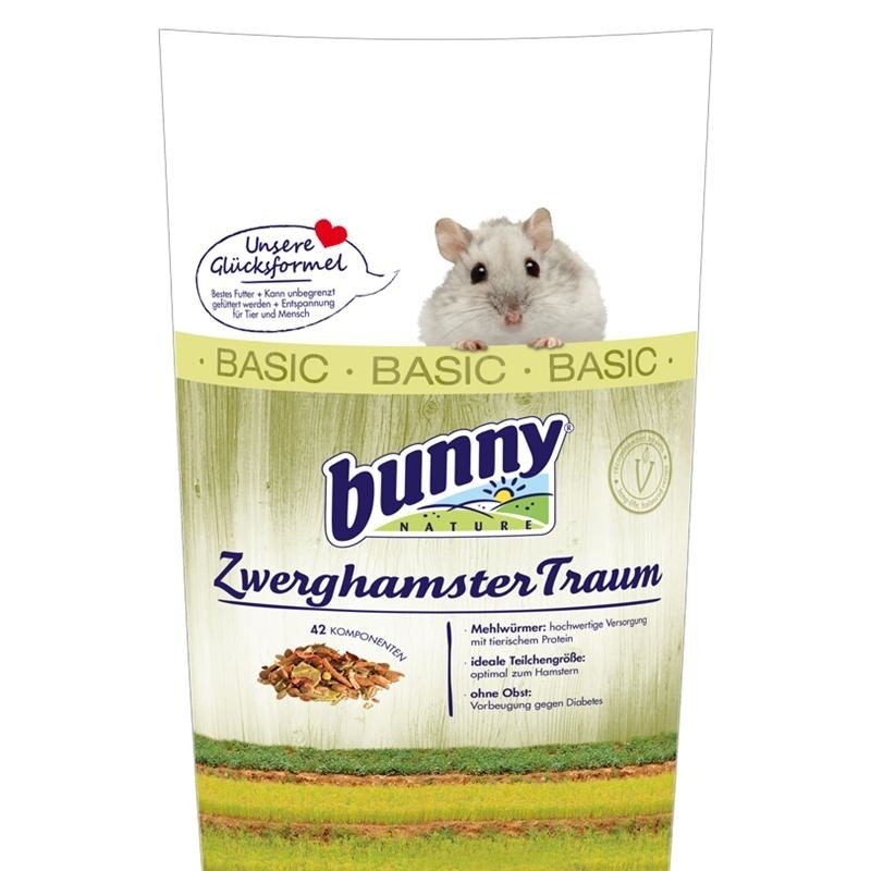 Bunny ZwerghamsterTraum basic, 600 g