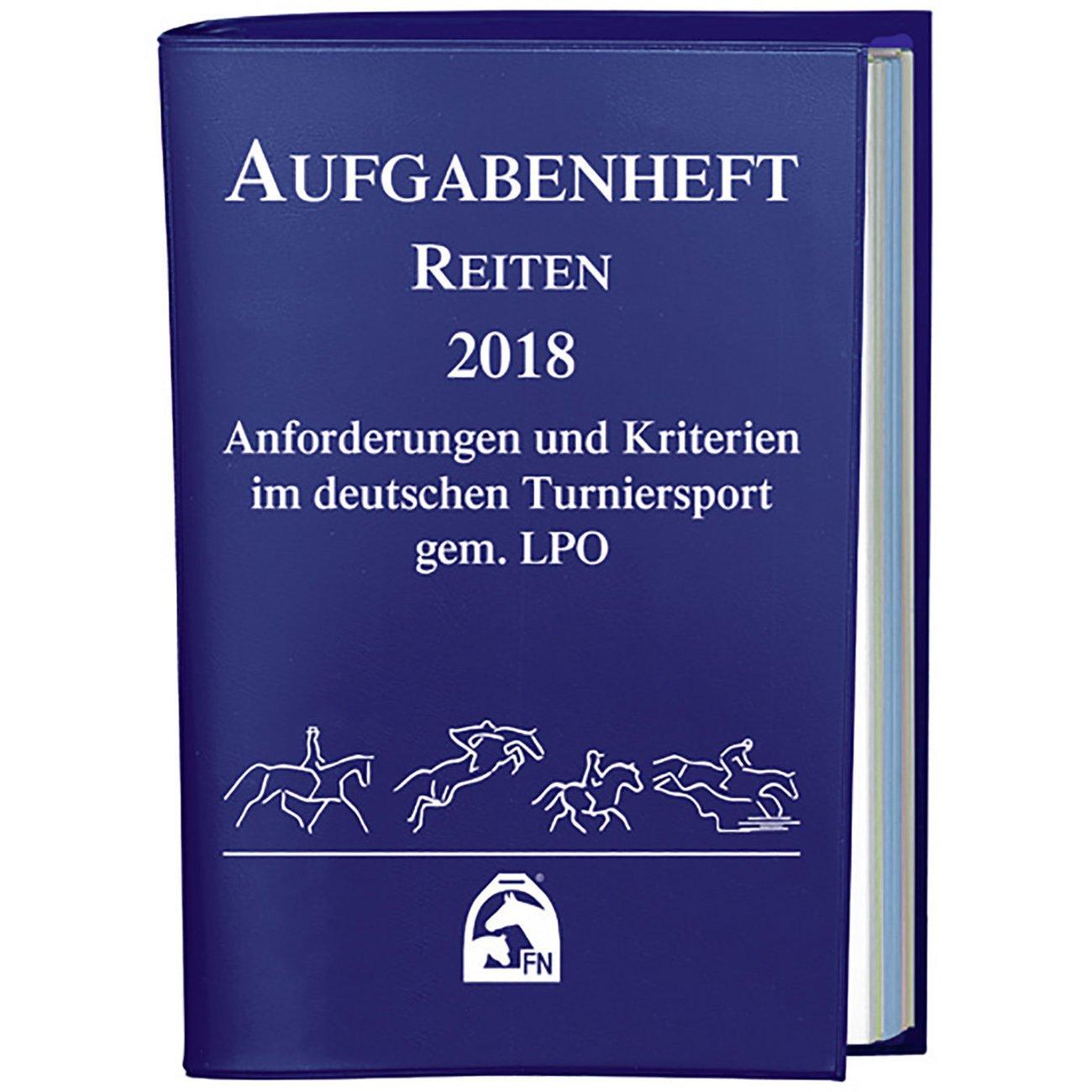 BUSSE Aufgabenheft Reiten 2018 Nationale Ausgabe, Aufgabenheft 2018 - Reiten (Nationale Aufgaben)