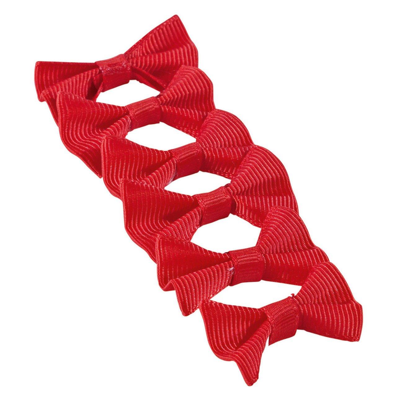 BUSSE Mähnenschleifen Uni, rot