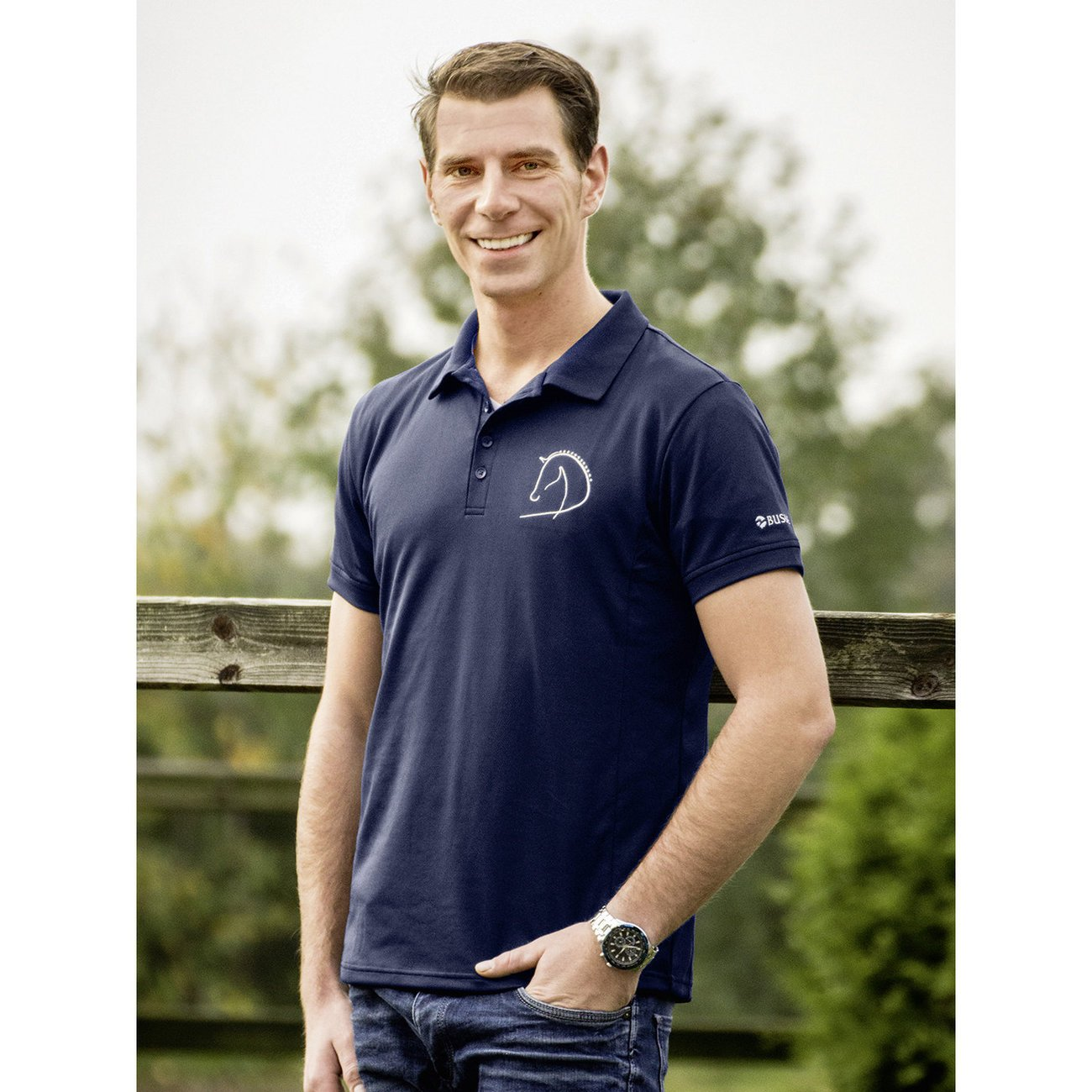 BUSSE Polo Shirt Crew Man Preview Image
