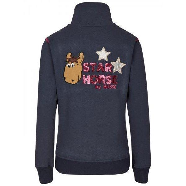 BUSSE Sweat Shirt Jacke Star Horse, Bild 3