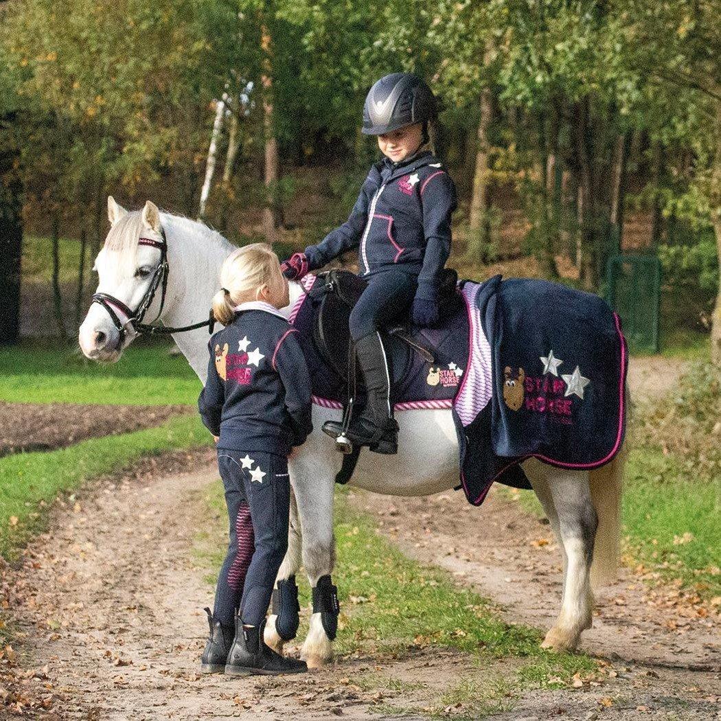 BUSSE Sweat Shirt Jacke Star Horse, Bild 2
