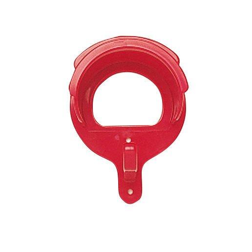 BUSSE Trensenhalter PVC Deluxe, rot