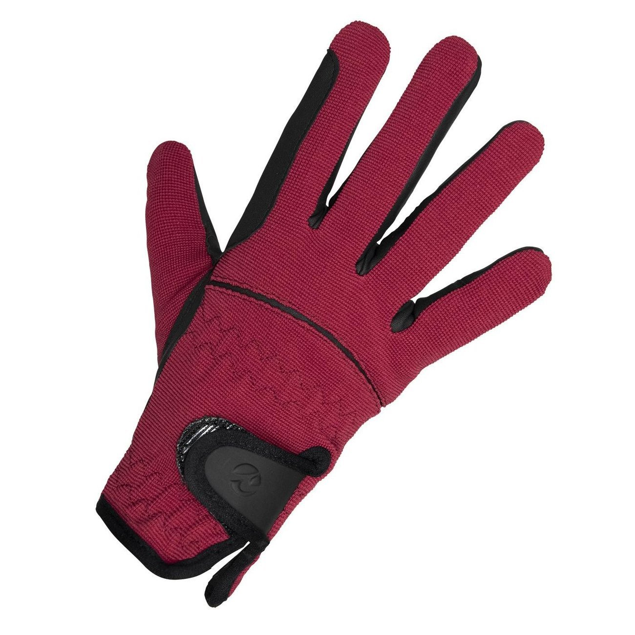 BUSSE Winter Reit Handschuhe Kaya, Kindergröße CL, wine/black