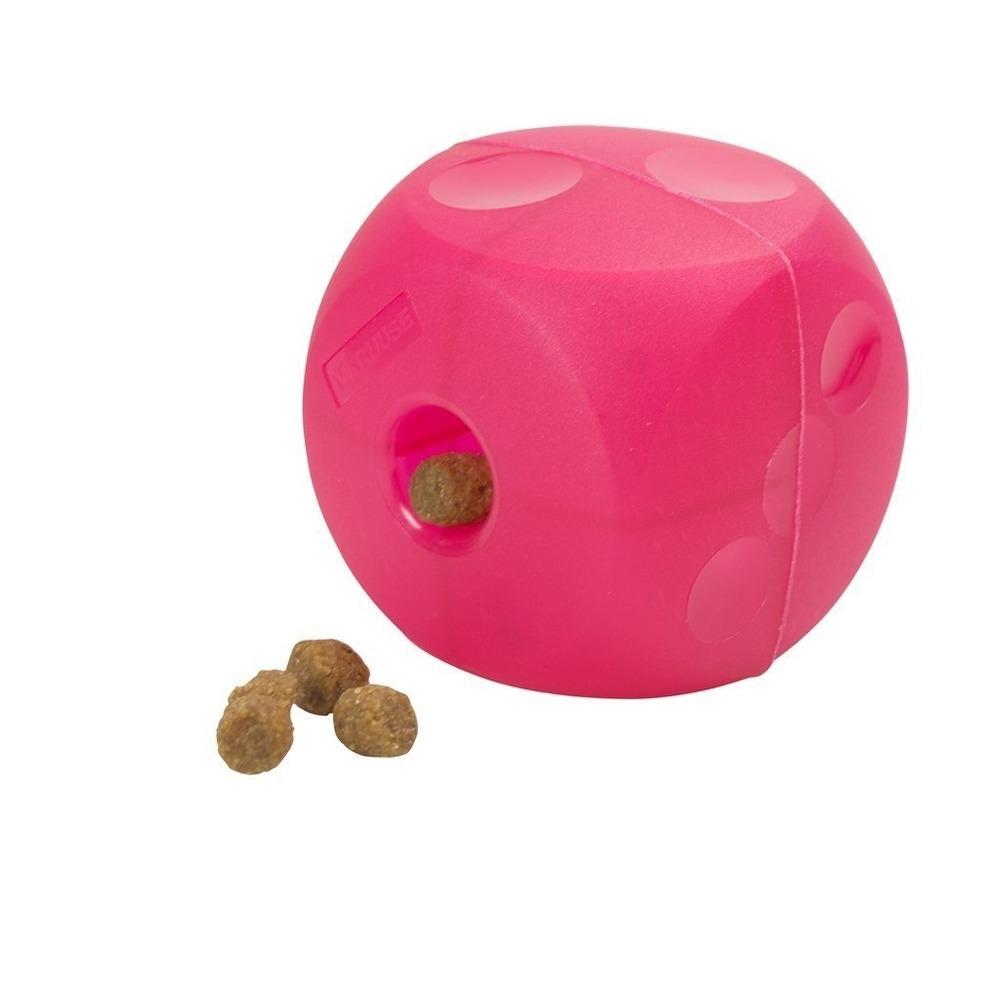 Kruuse Soft Cube Leckerli Würfel, Groß, rot, 12,7 cm