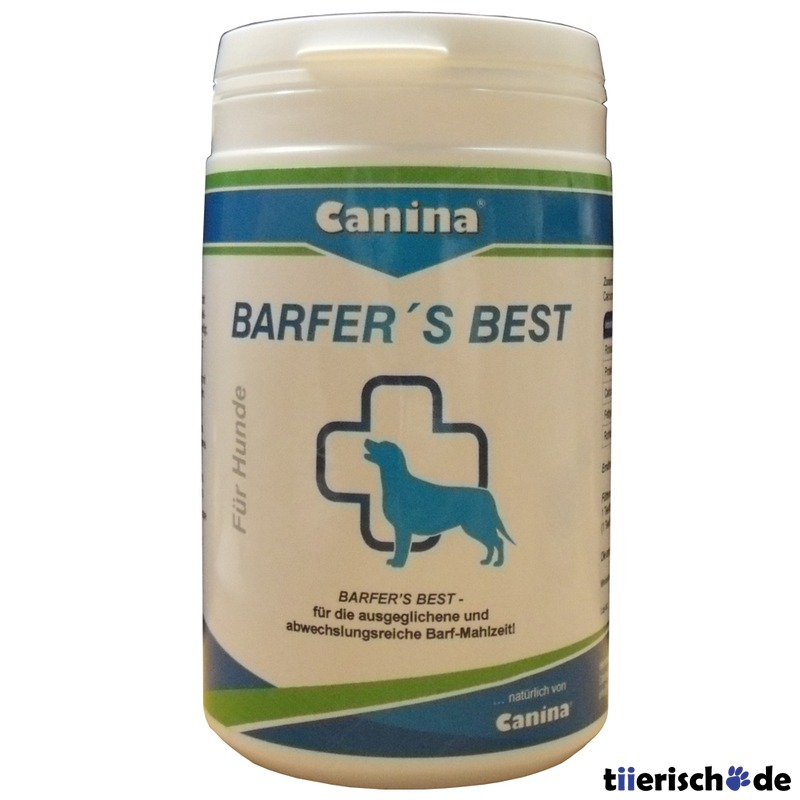 Canina Barfers Best Pulver
