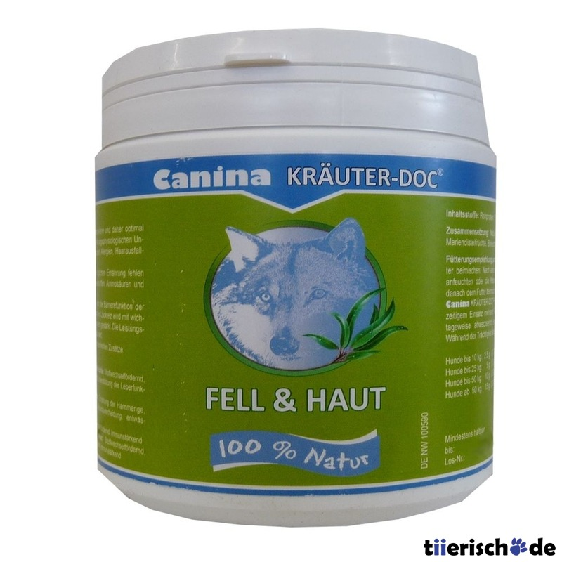 Canina KRÄUTER-DOC Fell & Haut