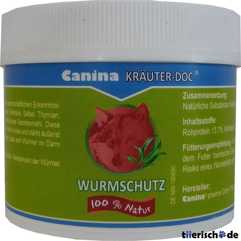 Canina KRÄUTER-DOC Wurmschutz, 25g
