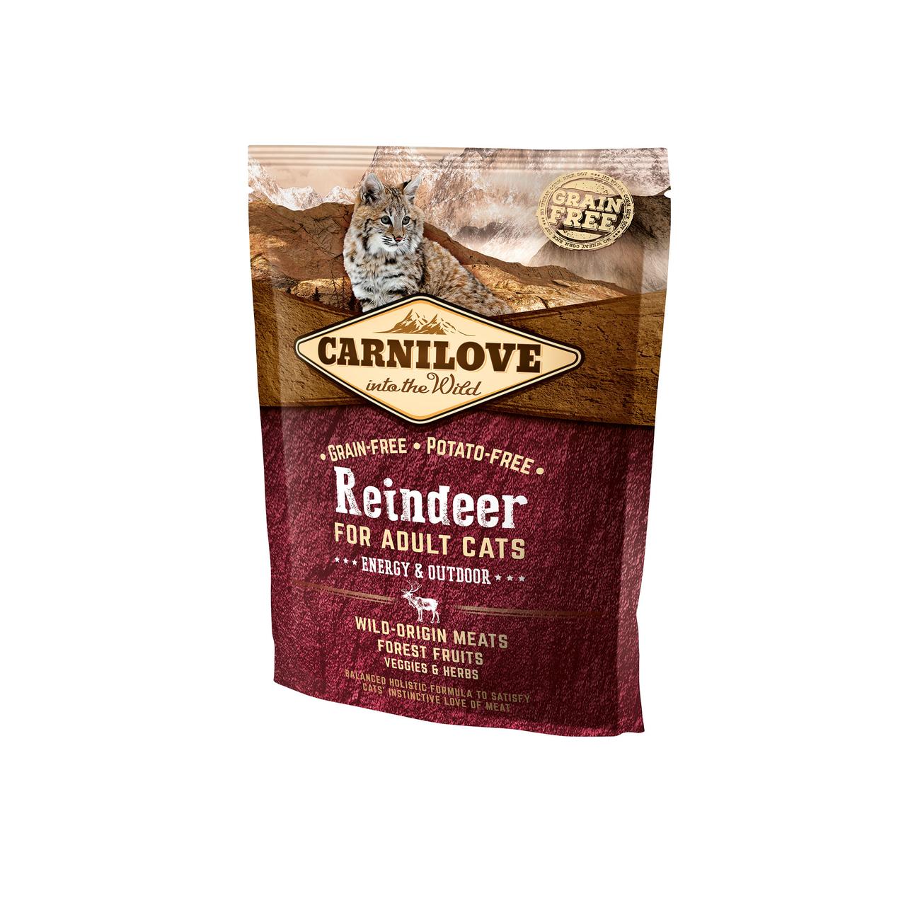Carnilove Adult Reindeer Energy & Outdoor für Freigänger Katzen, Bild 3