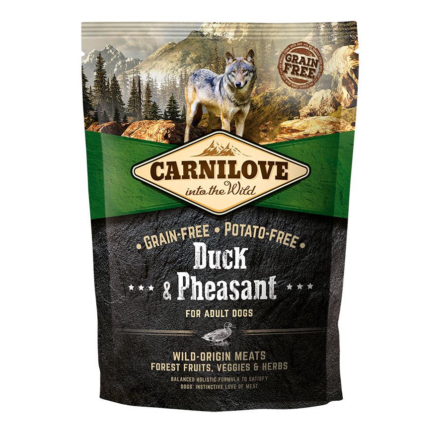 Carnilove Adult Duck & Pheasant Trockenfutter für Hunde, Bild 2