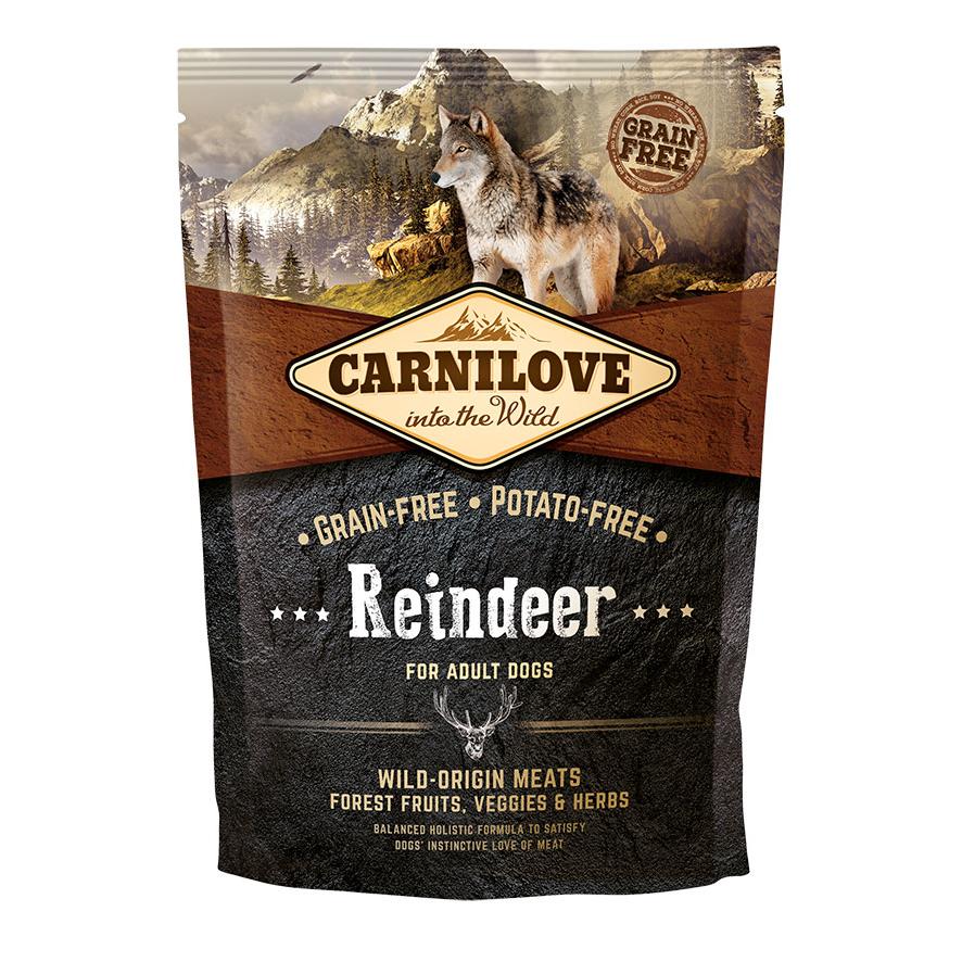 Allco Carnilove Adult Reindeer Hundefutter, 1,5 kg