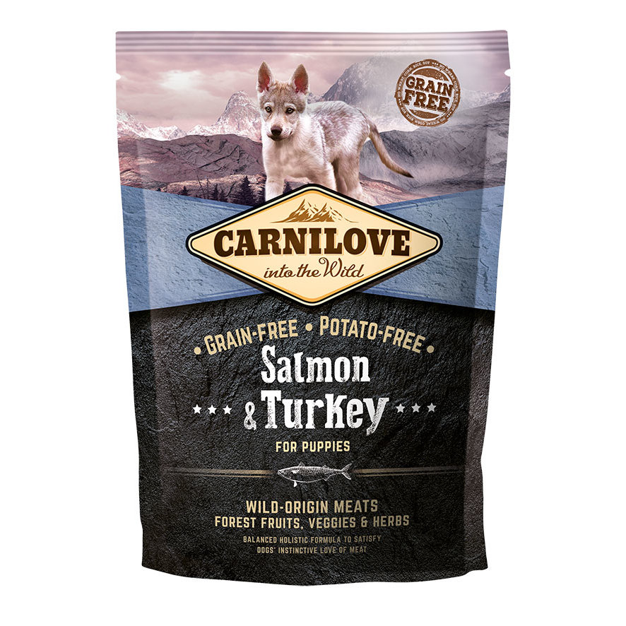 Carnilove Dog Puppy Salmon & Turkey Hundefutter, Bild 2