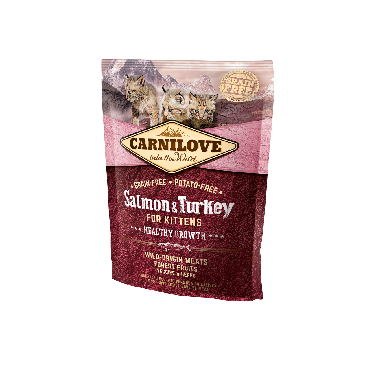 Allco Carnilove Kitten Salmon & Turkey Katzenfutter, 400 g