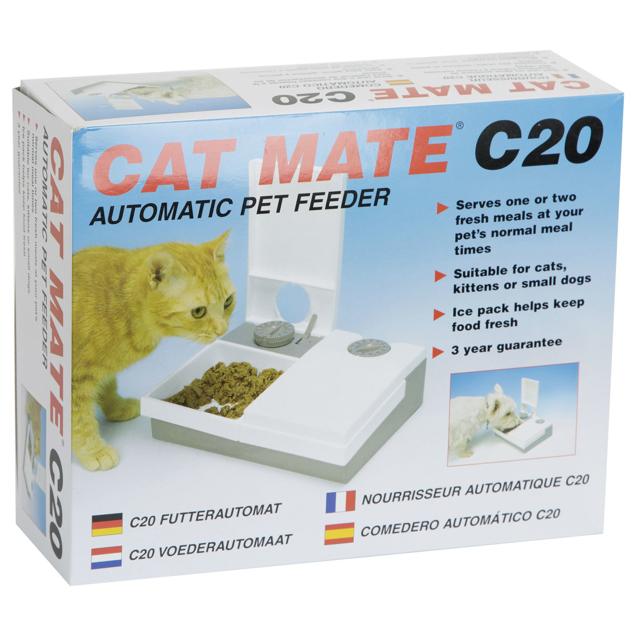 CAT MATE C20 Nassfutter Automat, Bild 2