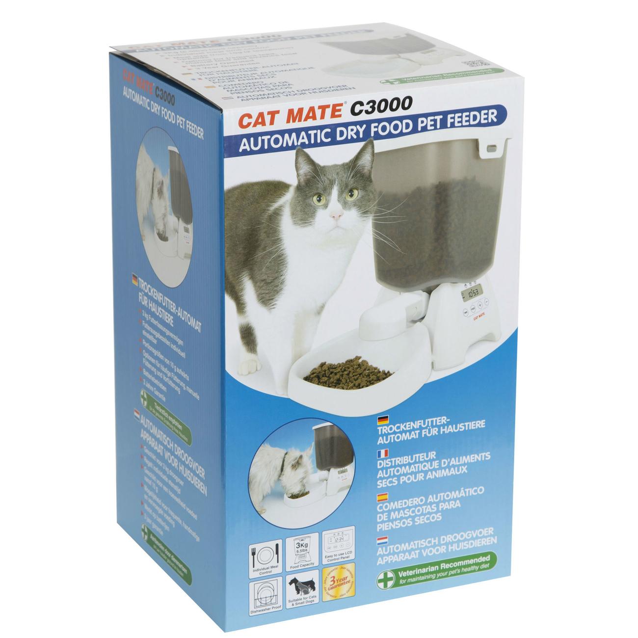 CAT MATE Trockenfutterautomat für Hunde und Katzen C3000, Bild 4