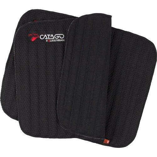 CATAGO Fir Tech Bandagierunterlagen, 45 x 50 cm - schwarz