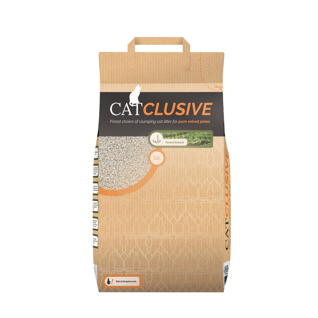 EBI Catclusive Katzenstreu Waldbriese, 12 Liter