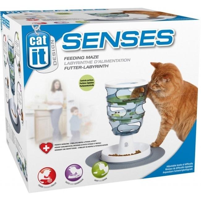 Catit Design Senses Futter-Labyrinth Katzenspielzeug, Bild 4