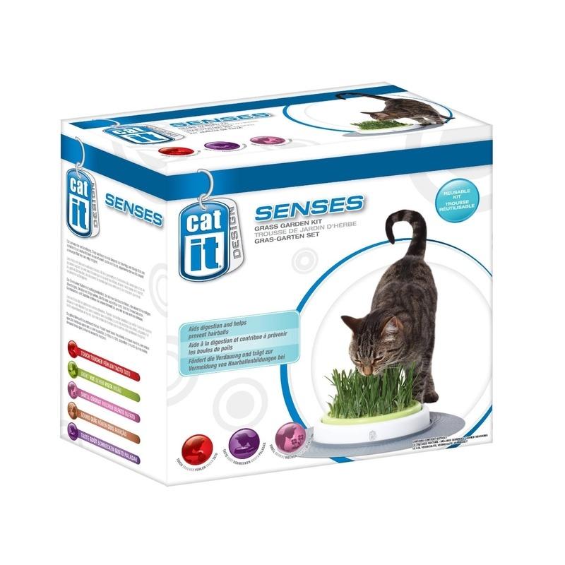 Catit Design Senses Gras-Garten-Set Katzengras, Bild 4