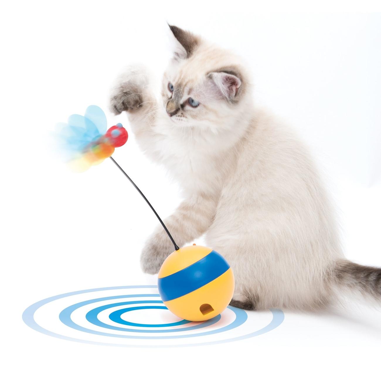 Catit Play 2.0 Tumbler Bee Laserspielzeug, Bild 4
