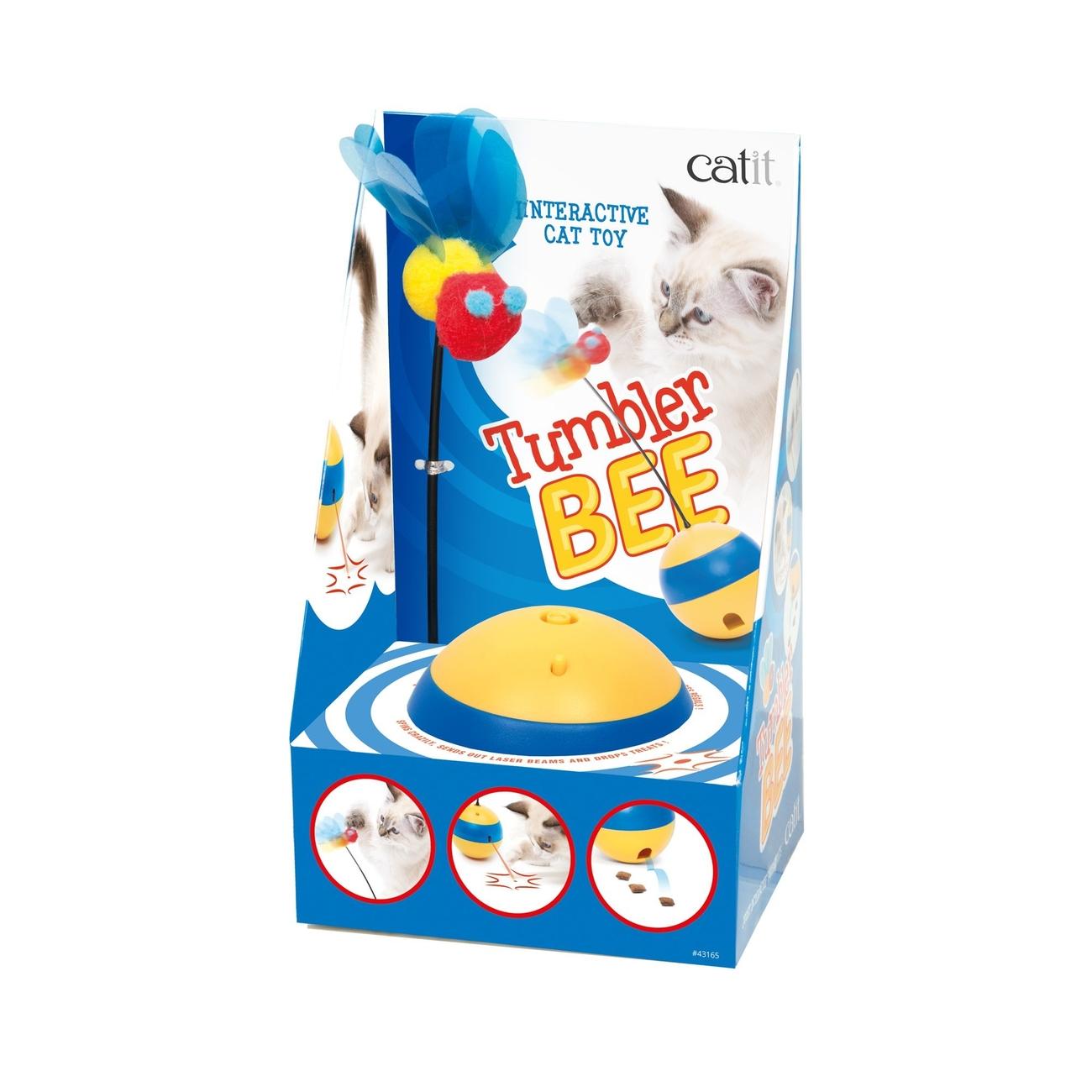 Catit Play 2.0 Tumbler Bee Laserspielzeug, Bild 2