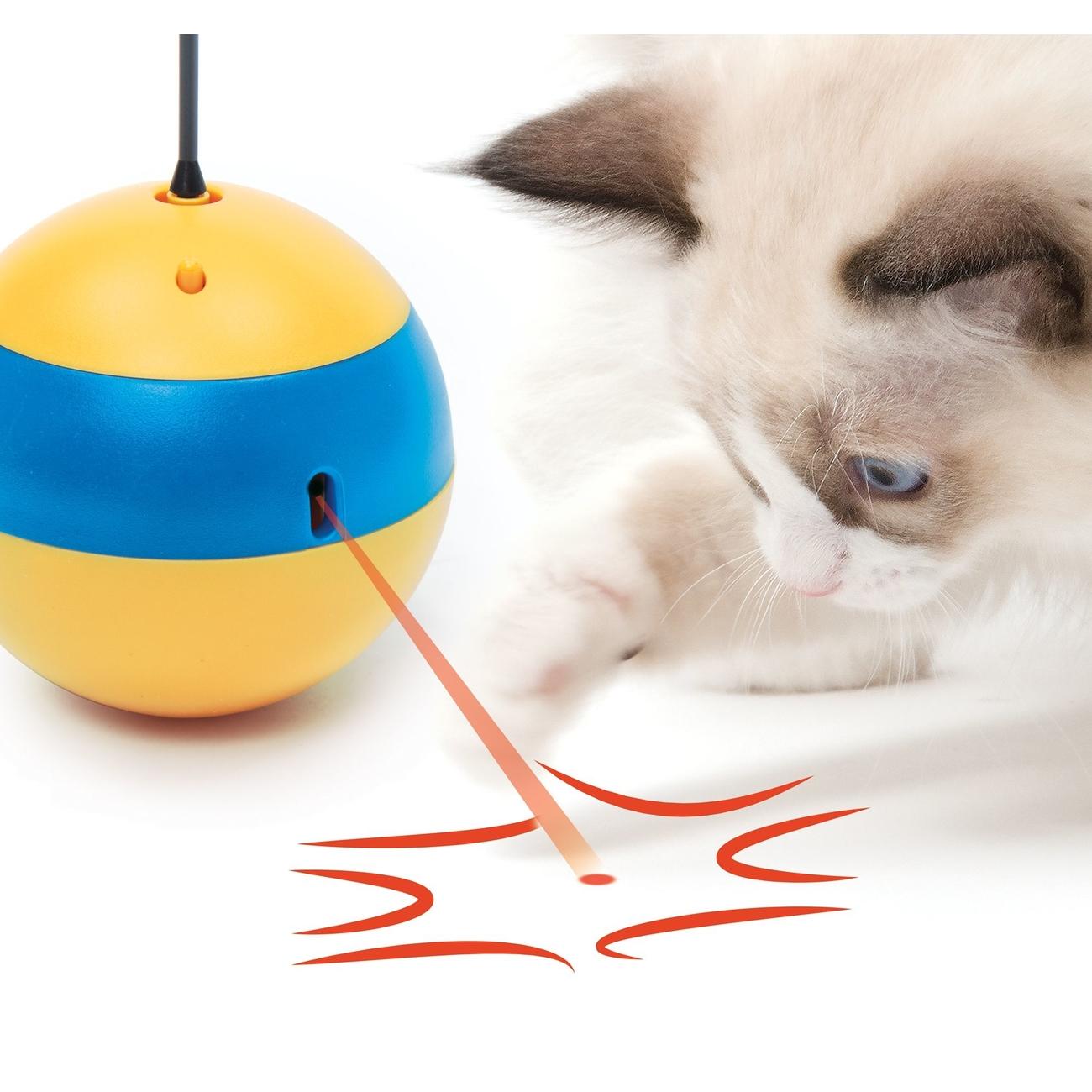Catit Play 2.0 Tumbler Bee Laserspielzeug, Bild 3
