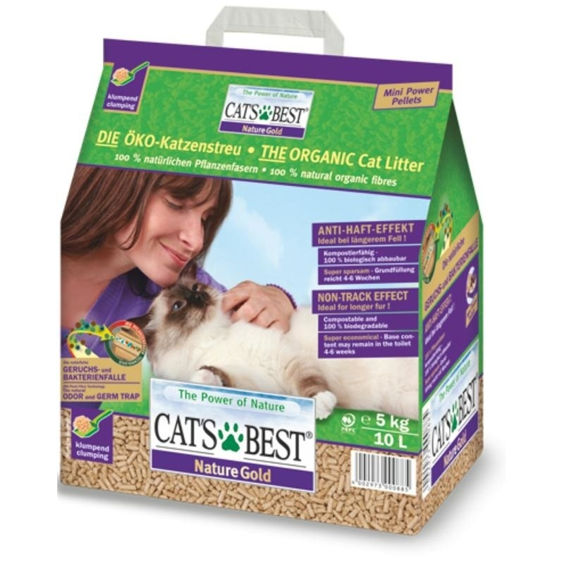 Cat's Best Cats Best Nature Gold Smart Pellets Katzenstreu