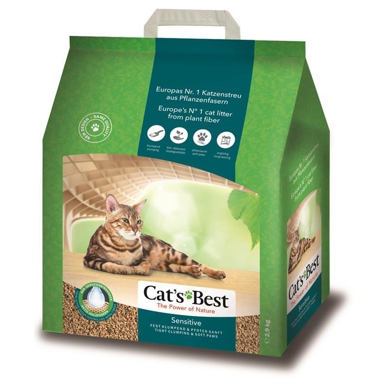 Cat's Best Sensitive Katzenstreu, 8 Liter