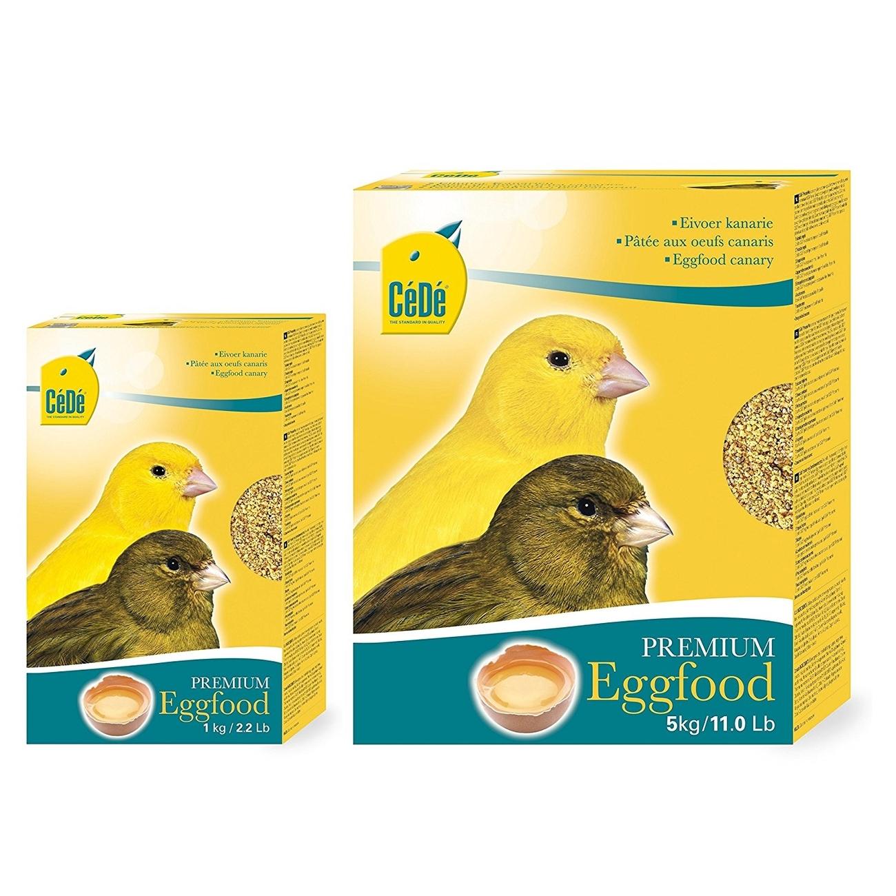 CeDe CéDé Vogelfutter Eifutter Kanarien gelb