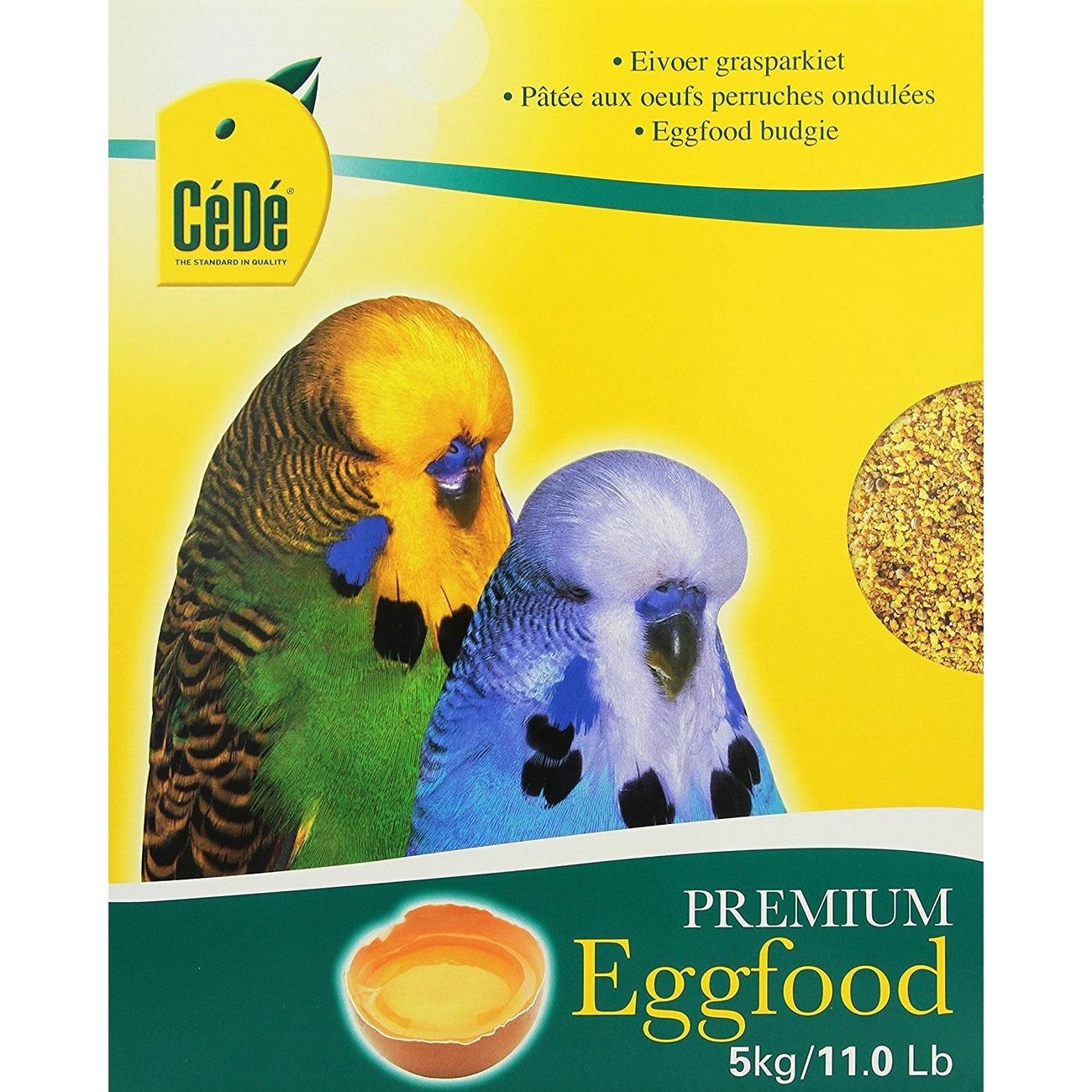 CeDe CéDé Vogelfutter Eifutter Wellensittich, 5 kg