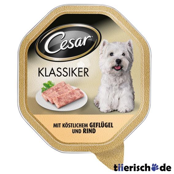 Caesar Cesar Zarte Fleischstückchen Hundefutter Schälchen, Bild 2