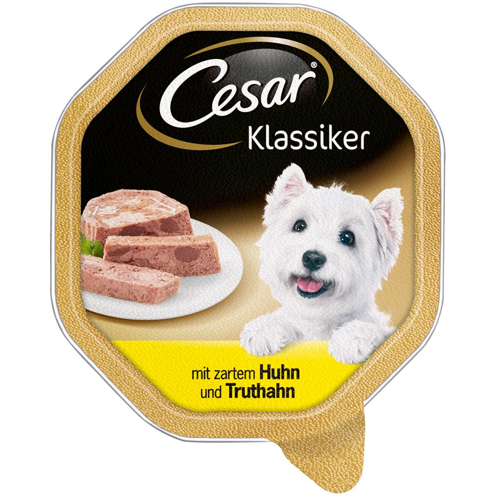 Caesar Cesar Zarte Fleischstückchen Hundefutter Schälchen, Bild 4