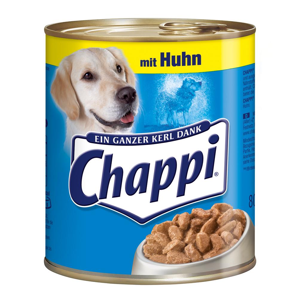 Chappi Dosenfutter für Hunde