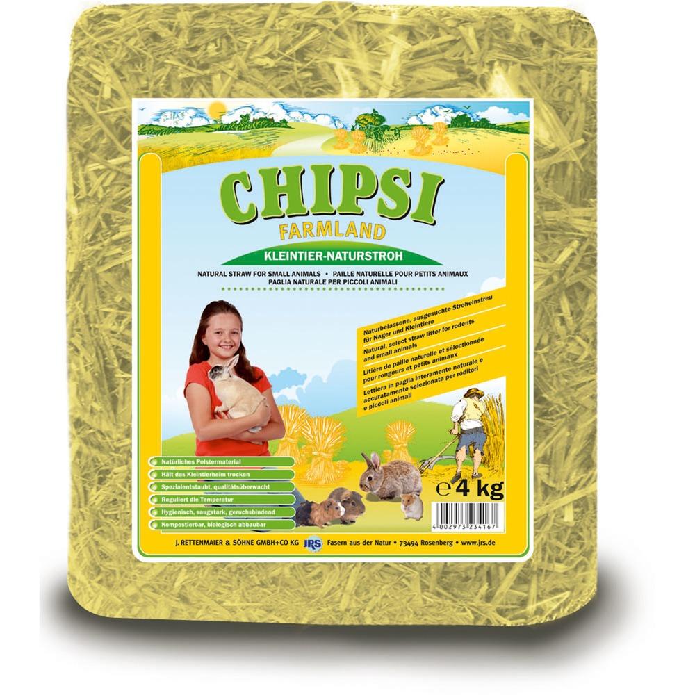Chipsi Farmland Kleintier Stroh